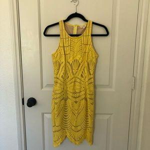 Teas & Cup Yellow Dress